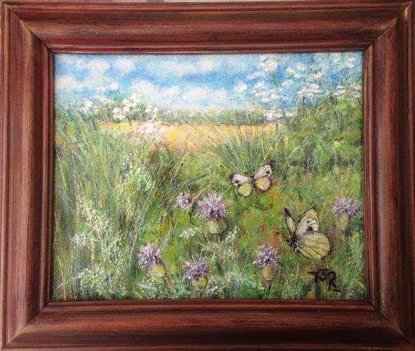 Meadowland - Beautiful Bisley  by Theresa  Robinson