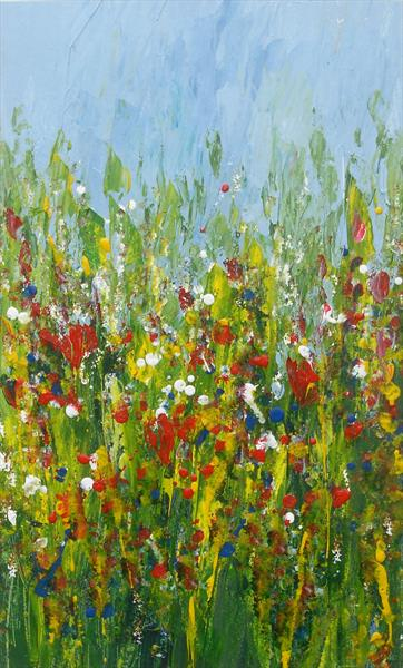 Spring Meadow 2 by Jan Rippingham