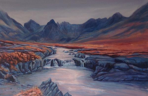 The Fairy Pools  by Beverley Saville