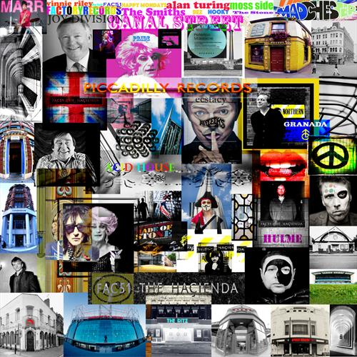 Manchester Music and History Montage by Paul W Webster