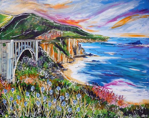 Bixby Bridge by Laura Hol