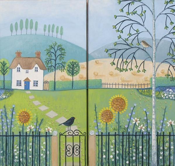 Country Cottage by Josephine Grundy
