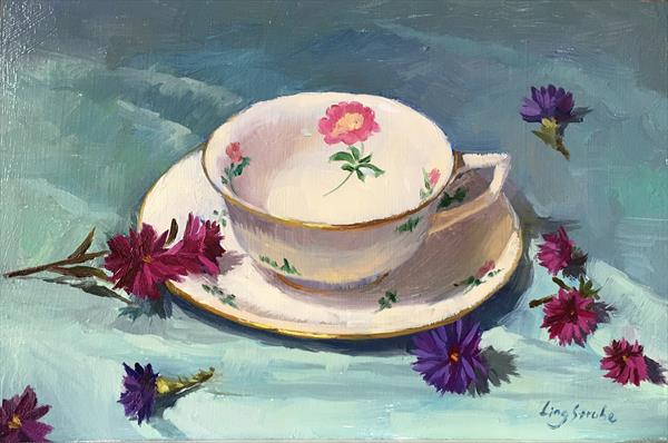 The Teacup by Ling Strube