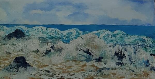 The beauty of the ocean by Carol Gaston