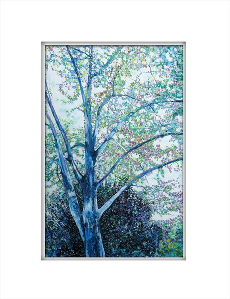 Summer Tree 3 by Roz Edwards