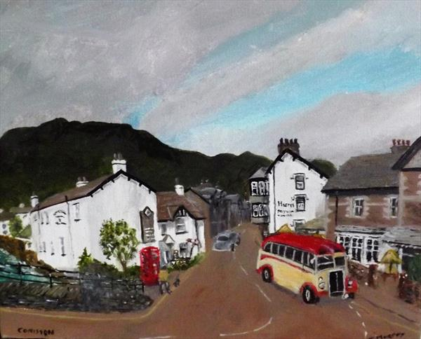Coniston Village by JOHN MURPHY