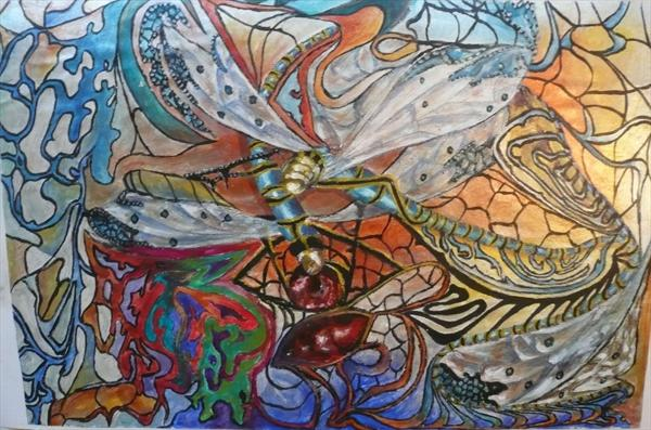 Dragonflies by Wendy McIlroy