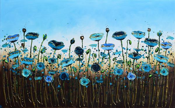 A burst of Blue Poppies