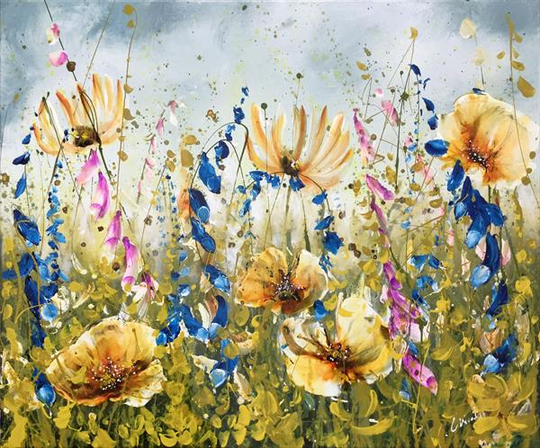 Festival Meadow by Carol Wood