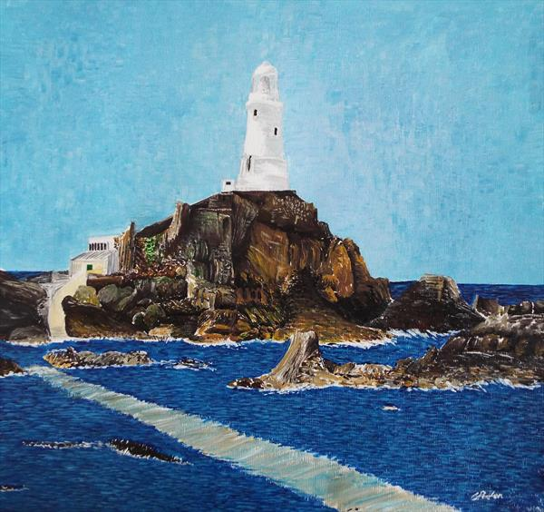 Corbiere Lighthouse by Charlotte Pullen