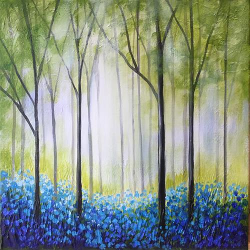 Bluebell woodland  by JANE PALMER