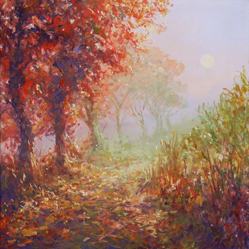 Pathway (On Display at Art Gallery, Tetbury) by Mariusz Kaldowski