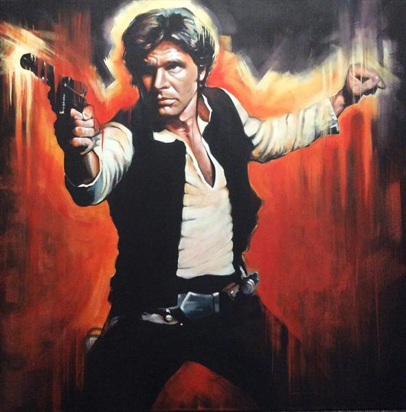 Han Solo by sharon coles