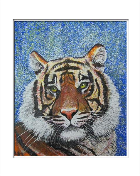 Tiger 3 by Roz Edwards