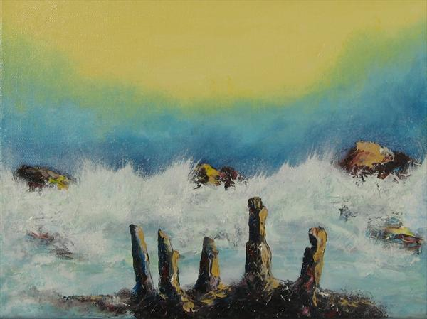 Tempestuous Shore by Brian Barsby