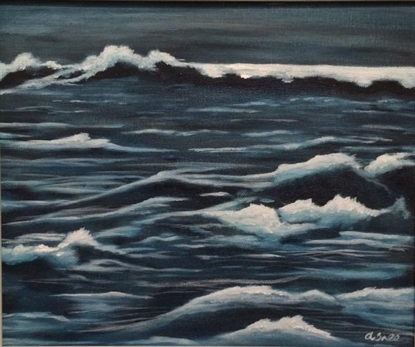 Stormy sea by Andrew Snee