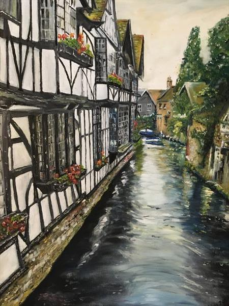 River Stour, Canterbury  by KIM WILFORD