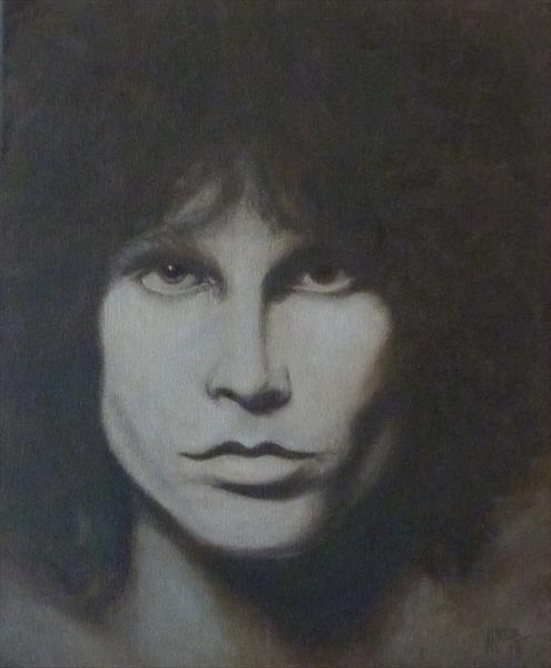 Jim Morrison by David Moore
