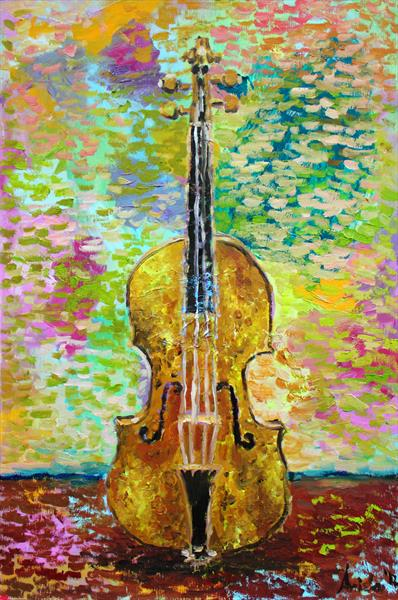 Violin by M K Anisko