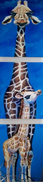 The Kindly Giraffe & Son by Shirley Wright
