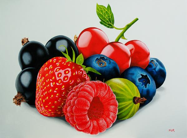 Berry Selection II by Dietrich  Moravec