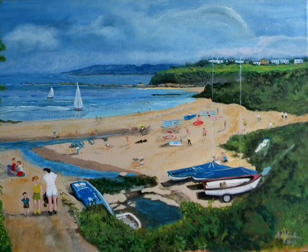 Day At the Seaside by Alice P Jenkins