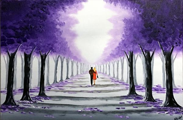 Through The Purple Trees 2 by Aisha Haider