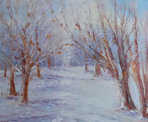 Winter Soloitude by Therese O'Keeffe