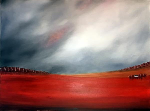 Fields Of Red by Aisha Haider