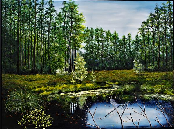 Delamere Moss by Hazel Thomson