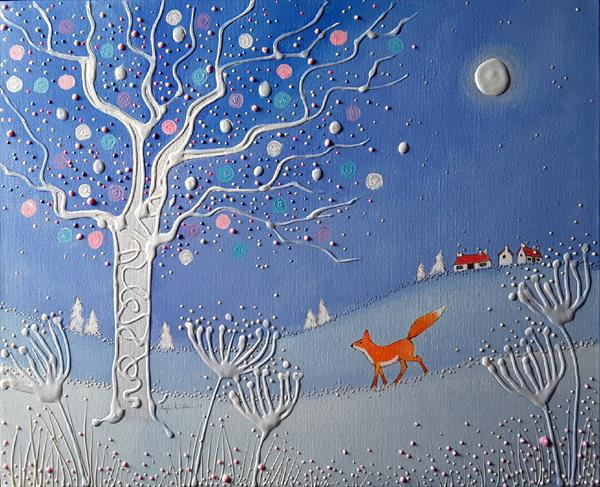 The Snow Fox by Angie Livingstone