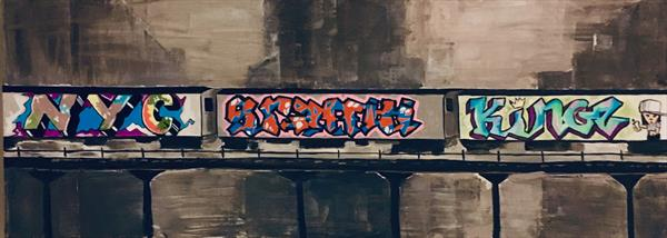 NYC Graffiti Kings by Andrew Snee