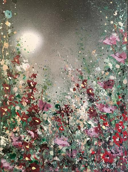 Moonlight flowers  by Pippa Buist