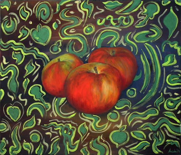 Apples by M K Anisko