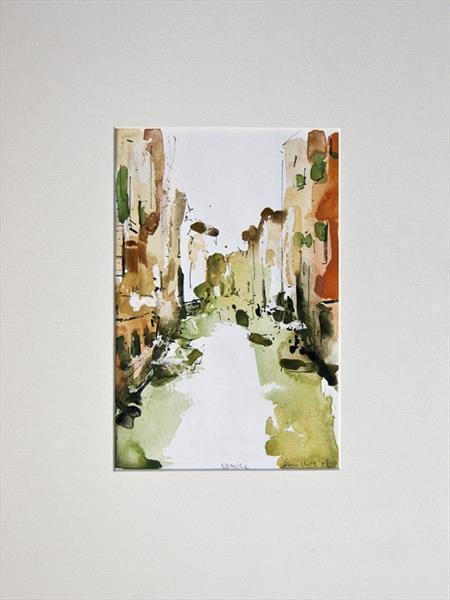 Venice Watercolour No 1 by Ian Mckay