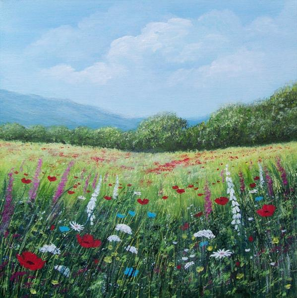 Summer Fields by Patricia Richards