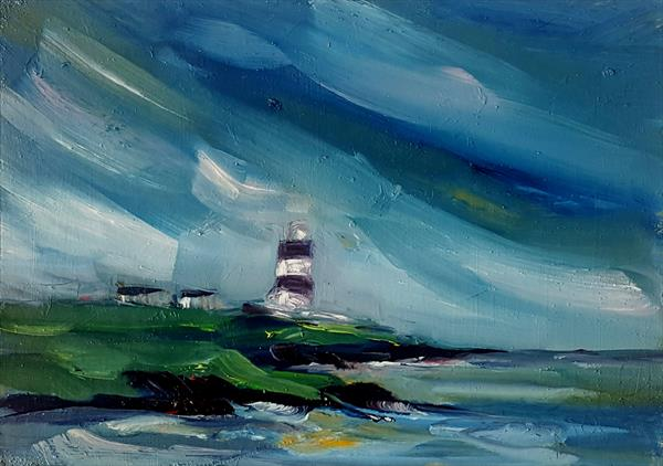Early morning skies at Hook Head Lighthouse by niki purcell