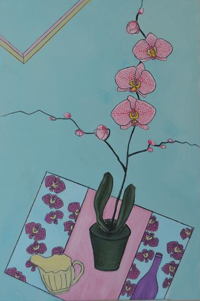 orchid and other things:2 by Melissa Pentney