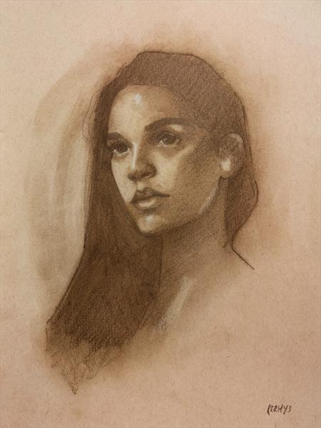 Portrait Of A Young Woman by Kerhys Farley