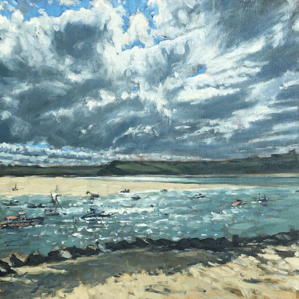 Rock to Padstow - across the Camel Estuary by Louise Gillard