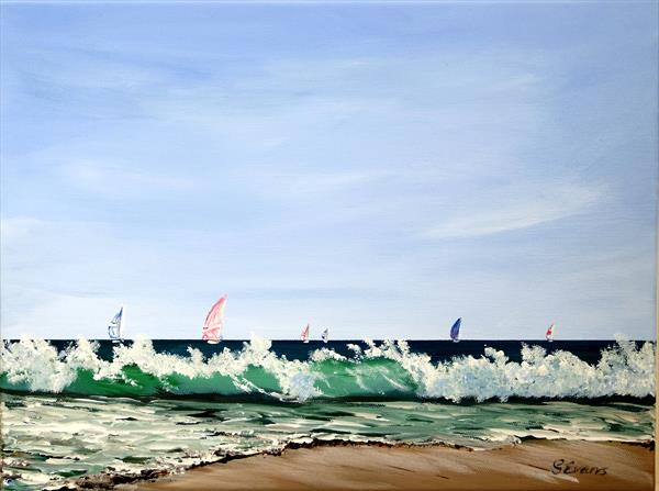SAILING IN THE BREEZE by Graham Evans