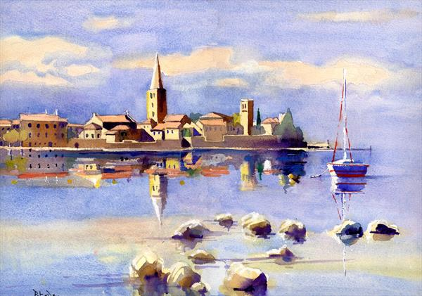 A Perfect Morning, Porec, Croatia by Peter Day