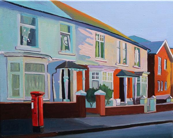 The Sun Sets On Oakwood Road  by Emma Cownie