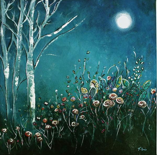 Forest Flowers by Night by Tracey Unwin
