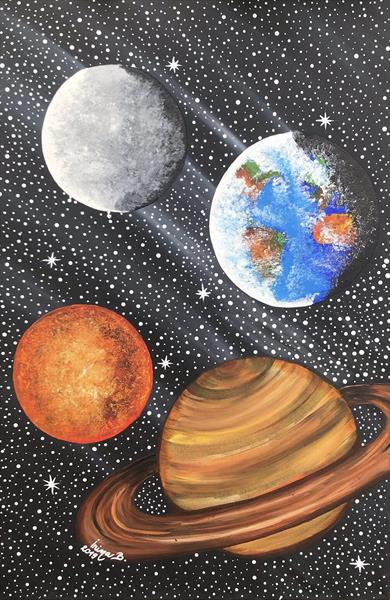 Planets in the Universe by IRINA BBOTA