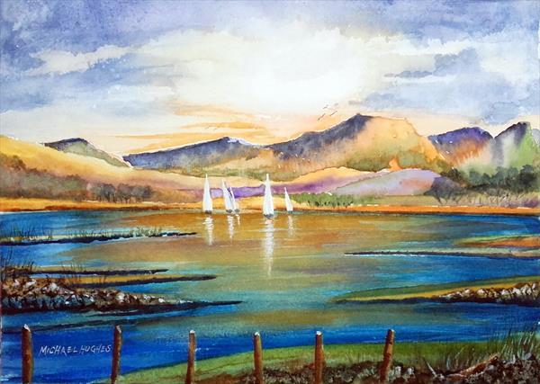 Sails on the Highland Lochs by Michael Hughes
