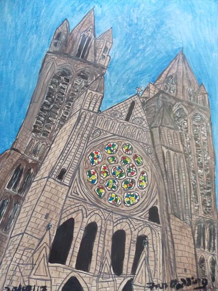 Truro Cathederal by Ian Dodding