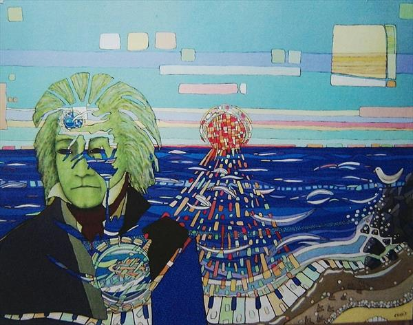 Beethoven. LIMITED EDITION PRINT 2/7.  by mario curis