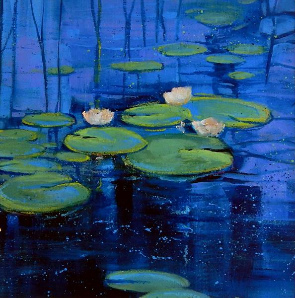 Lily Pond by Denise Coble
