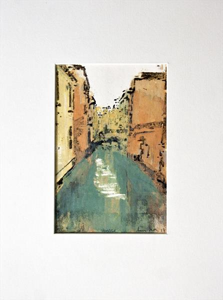 Venice Prints -Series 2 , Print No 10 by Ian Mckay